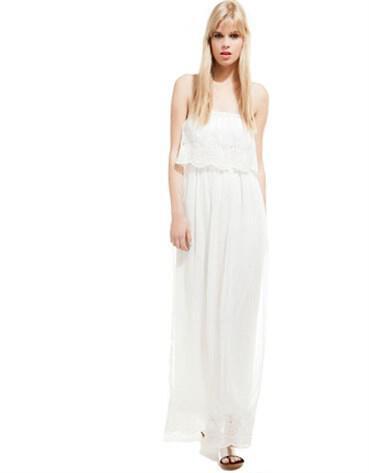 008e9a061fbf Μακριά Φορέματα BSK by Bershka Καλοκαίρι 2014
