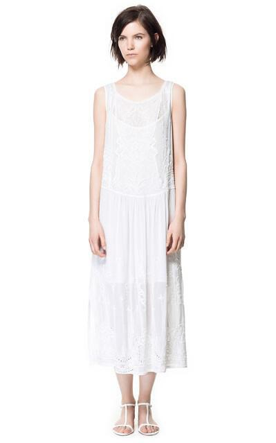 c0fa888897c7 Zara Μακριά Φορέματα collection Άνοιξη Καλοκαίρι 2013