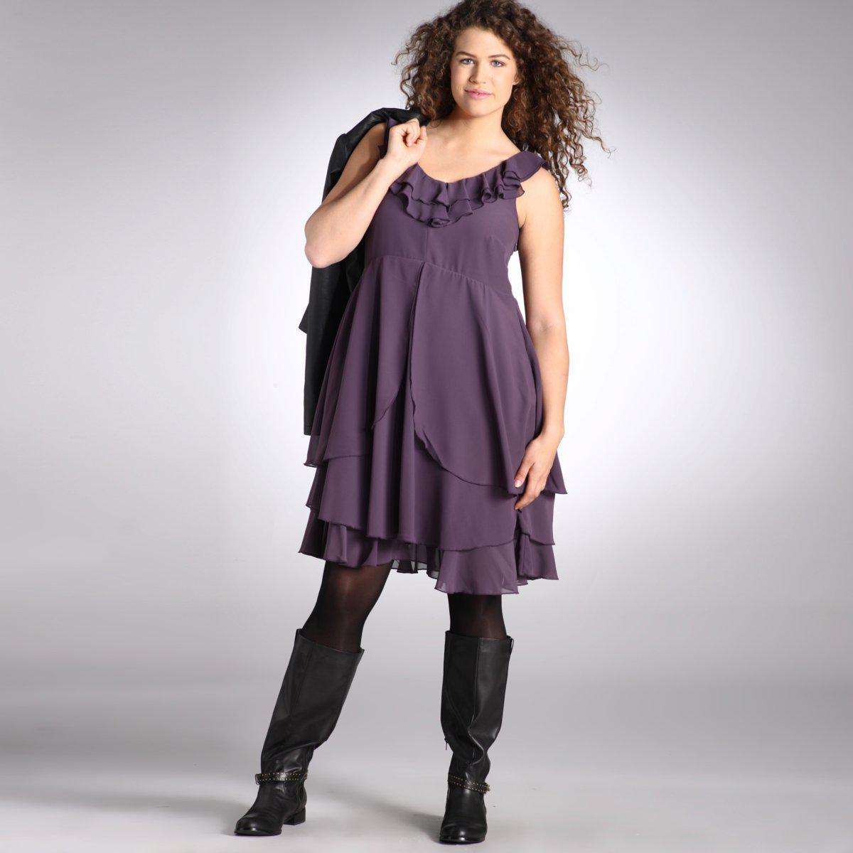 bradyna foremata 220 - Βραδυνα Φορεματα Plus Size Φθινόπωρο 2011 κωδ. 324205352