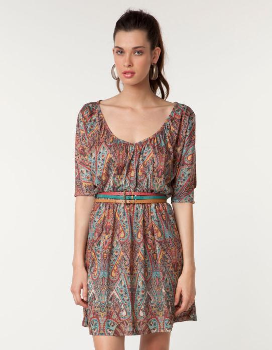 Φορέματα Bershka Φθινόπωρο Χειμώνας 2011 2012 0996e1bce76
