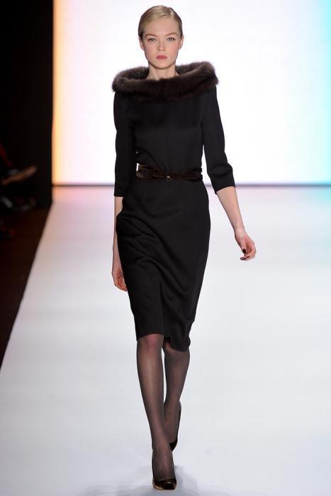 00090fullscreen2 - Carolina Herrera Φορέματα Συλλογή Φθινόπωρο Χειμώνας 2011 2012