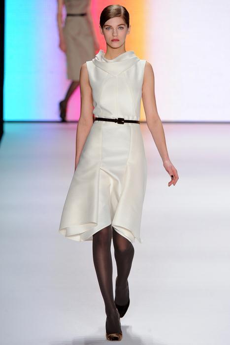 00190fullscreen1 - Carolina Herrera Φορέματα Συλλογή Φθινόπωρο Χειμώνας 2011 2012