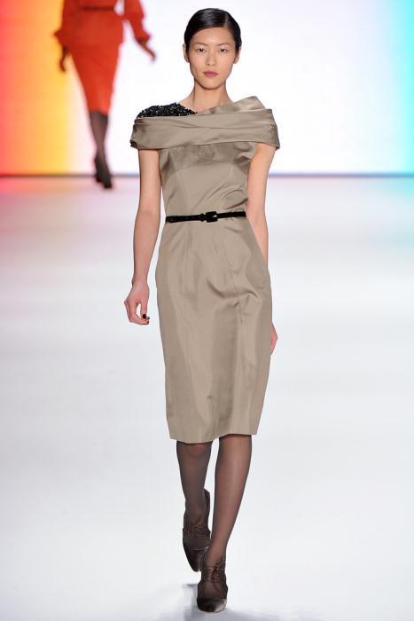00200fullscreen - Carolina Herrera Φορέματα Συλλογή Φθινόπωρο Χειμώνας 2011 2012