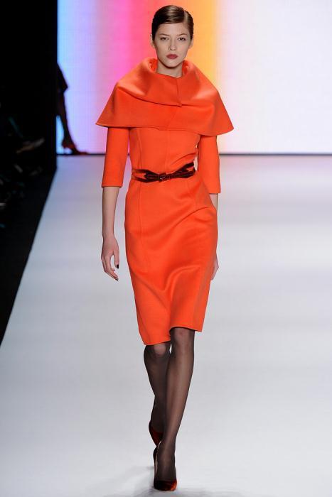 00230fullscreen1 - Carolina Herrera Φορέματα Συλλογή Φθινόπωρο Χειμώνας 2011 2012