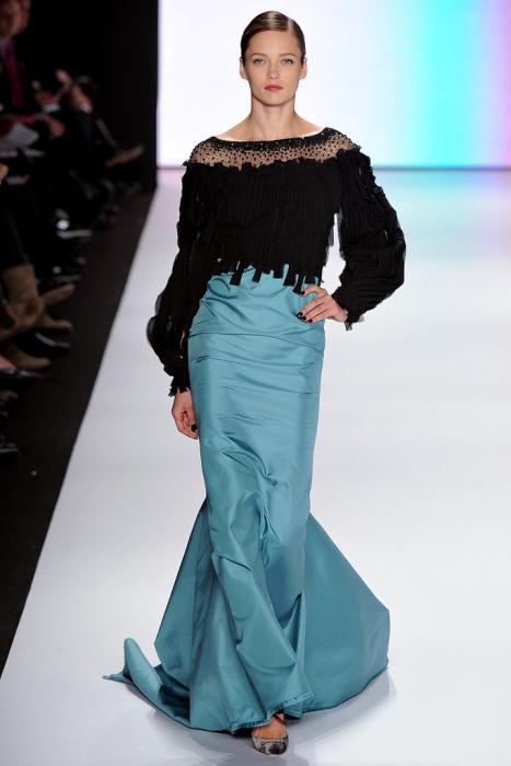 00330fullscreen1 - Carolina Herrera Φορέματα Συλλογή Φθινόπωρο Χειμώνας 2011 2012