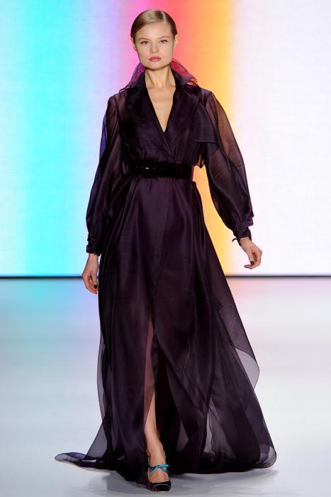 00350fullscreen - Carolina Herrera Φορέματα Συλλογή Φθινόπωρο Χειμώνας 2011 2012