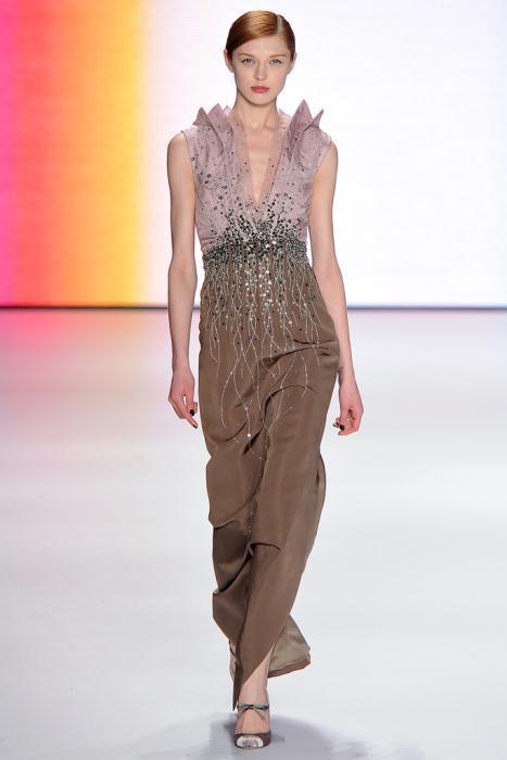 00370fullscreen - Carolina Herrera Φορέματα Συλλογή Φθινόπωρο Χειμώνας 2011 2012