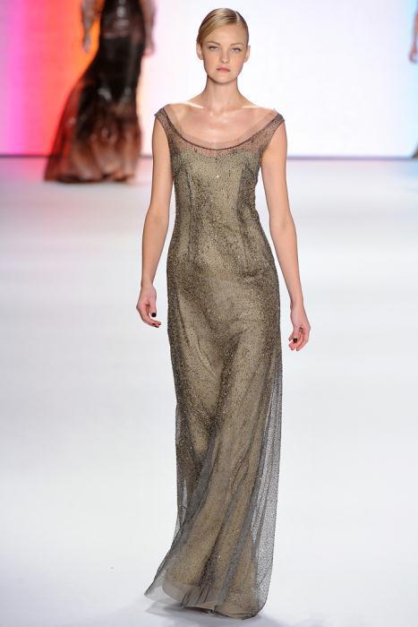 00390fullscreen - Carolina Herrera Φορέματα Συλλογή Φθινόπωρο Χειμώνας 2011 2012