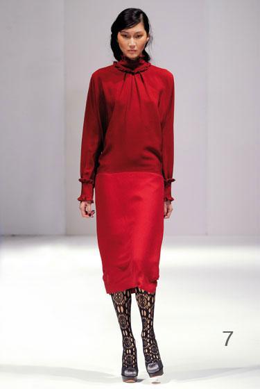 7 151 - Clements Ribeiro Φορέματα Φθινόπωρο Χειμώνας 2011 2012