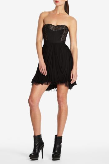 pBCBG1 10343790dt - BCBGMAXAZRIA Μαύρα φορέματα Φθινόπωρο Χειμώνας 2011 2012