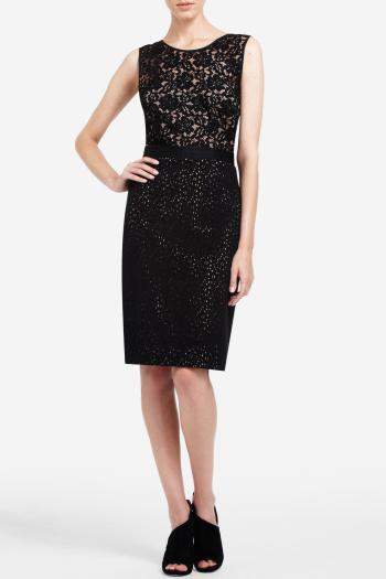 pBCBG1 10561959dt - BCBGMAXAZRIA Μαύρα φορέματα Φθινόπωρο Χειμώνας 2011 2012