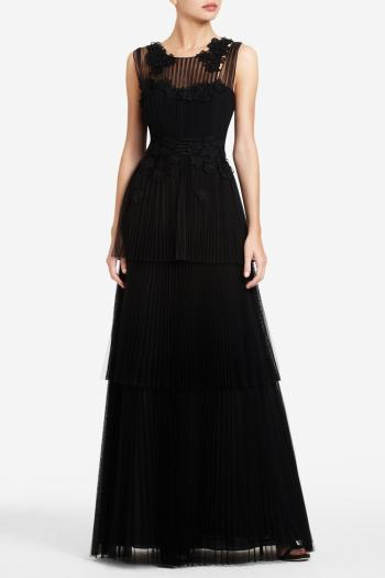 pBCBG1 10562338dt - BCBGMAXAZRIA Μαύρα φορέματα Φθινόπωρο Χειμώνας 2011 2012
