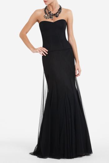 pBCBG1 10799058dt - BCBGMAXAZRIA Μαύρα φορέματα Φθινόπωρο Χειμώνας 2011 2012