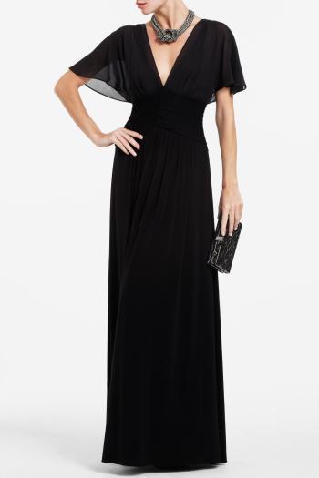 pBCBG1 11061876dt - BCBGMAXAZRIA Μαύρα φορέματα Φθινόπωρο Χειμώνας 2011 2012