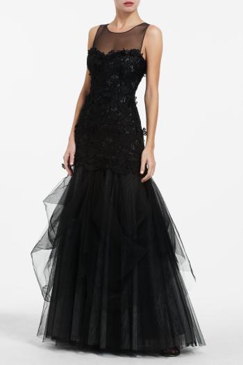 pBCBG1 11062134dt - BCBGMAXAZRIA Μαύρα φορέματα Φθινόπωρο Χειμώνας 2011 2012