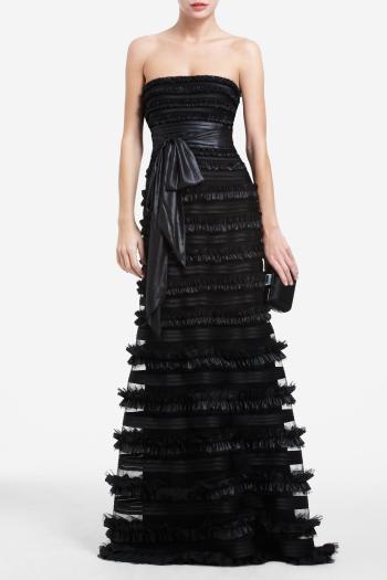 pBCBG1 11062240dt - BCBGMAXAZRIA Μαύρα φορέματα Φθινόπωρο Χειμώνας 2011 2012