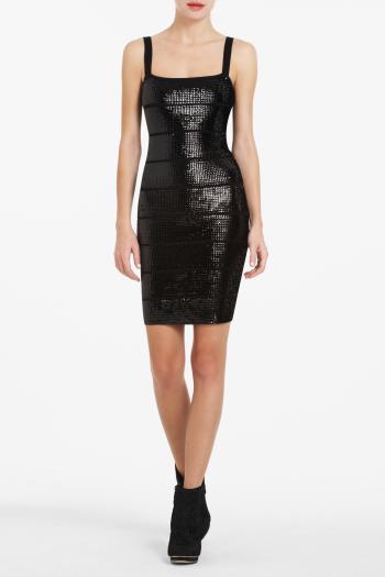 pBCBG1 11249050dt - BCBGMAXAZRIA Μαύρα φορέματα Φθινόπωρο Χειμώνας 2011 2012