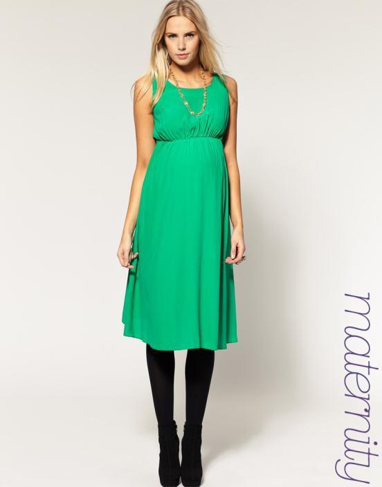 14 Θηλυκά και μοντέρνα φορέματα εγκυμοσύνης 2012 από το asos