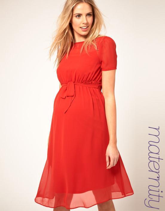 2 - Θηλυκά και μοντέρνα φορέματα εγκυμοσύνης 2012 από το asos