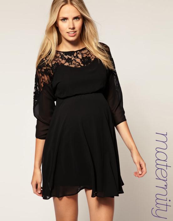 8 Θηλυκά και μοντέρνα φορέματα εγκυμοσύνης 2012 από το asos