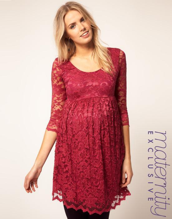 9 Θηλυκά και μοντέρνα φορέματα εγκυμοσύνης 2012 από το asos