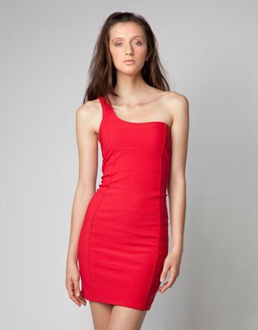 BERSHKA1 - Φορέματα 2012 Τα καλύτερα στο κόκκινο χρώμα!!