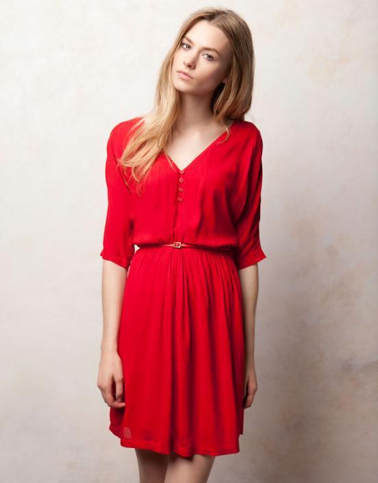 PULLBEAR2 - Φορέματα 2012 Τα καλύτερα στο κόκκινο χρώμα!!