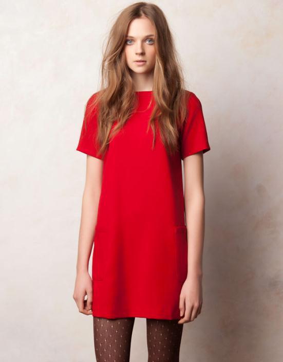 PULLBEAR3 - Φορέματα 2012 Τα καλύτερα στο κόκκινο χρώμα!!