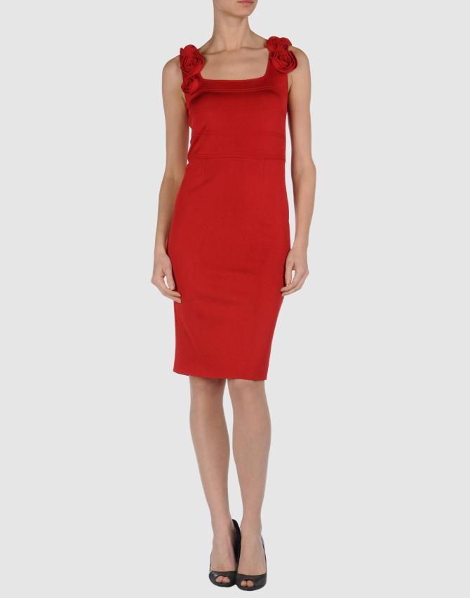 39257875ww 14 f - Φορέματα στο κόκκινο απο το Yoox !
