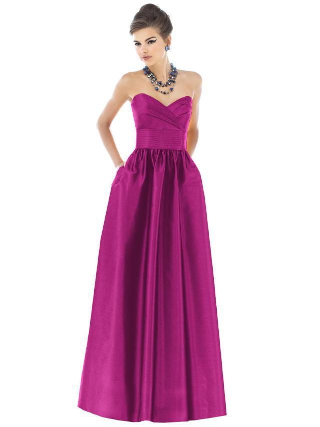 6030 WTML yawah - Βραδινά Φορέματα για γάμο ή βάφτιση Alfred Sung