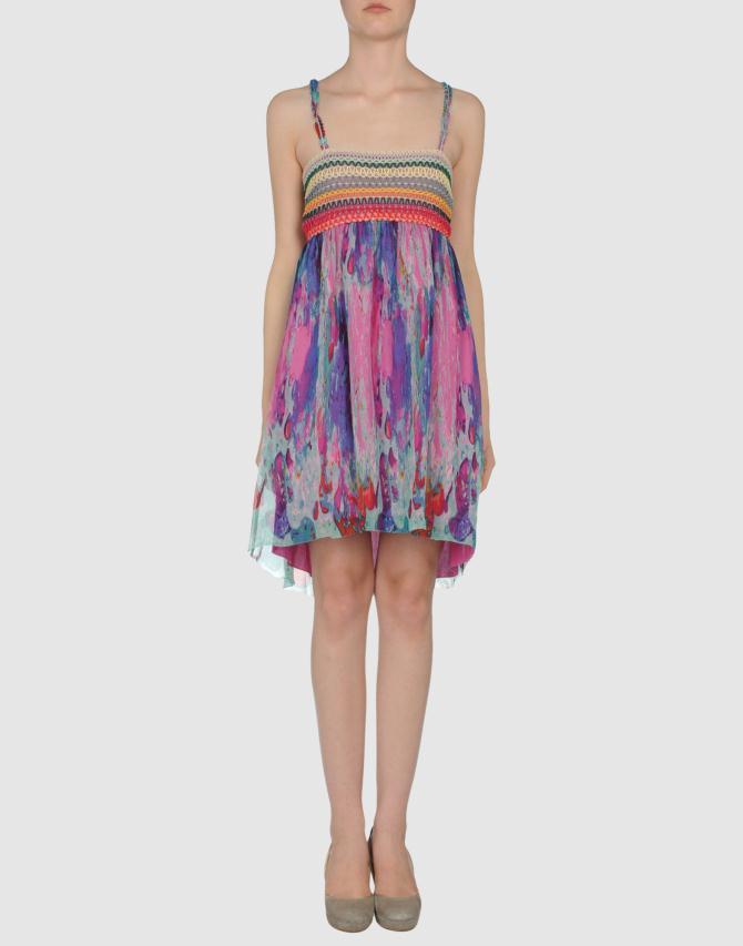 34256157mn 14 f - Custo Barcelona Φορέματα Collection Ανοιξη Καλοκαίρι