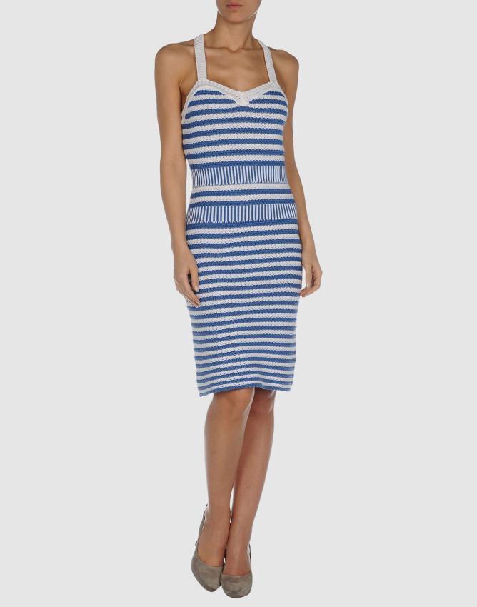 39264899ug 14 f - Φορέματα με navy στοιχεία από το Yoox.com