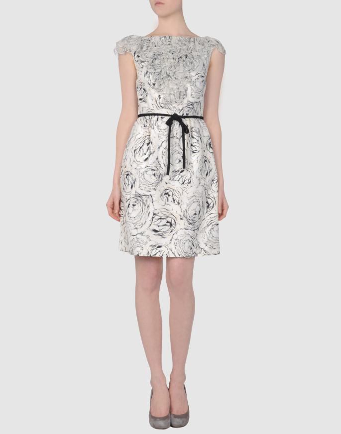 Black and White Dresses Spring Summer Collection 13 - Ασπρόμαυρα Φορέματα Collection Ανοιξη Καλοκαίρι