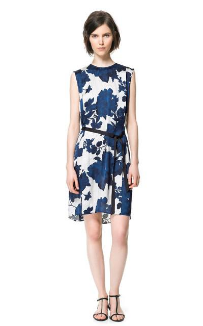 Zara Dresses Spring Summer 2013 collection 4 - Zara Φορέματα εμπριμέ collection Άνοιξη Καλοκαίρι 2013