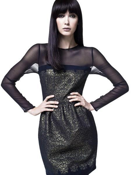 Sisley foremata fthinoporo xeimonas 2013 2014 5 - Sisley φορέματα Φθινόπωρο Χειμώνας 2013 2014