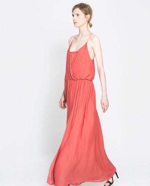 Zara foremata fthinoporo xeimonas 2013 2014 4 - Zara μακριά φορέματα Φθινόπωρο Χειμώνας 2013 2014