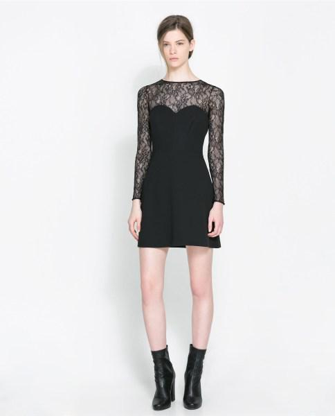Zara foremata fthinoporo xeimonas 2013 2014 13 - Zara βραδυνα φορέματα Φθινόπωρο Χειμώνας 2013 2014