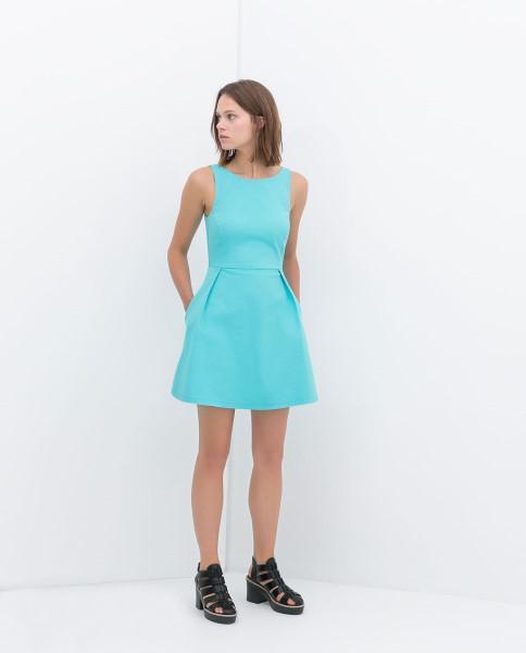 Ανοιξιάτικα φορέματα Zara TRF 2014 610a07ad896
