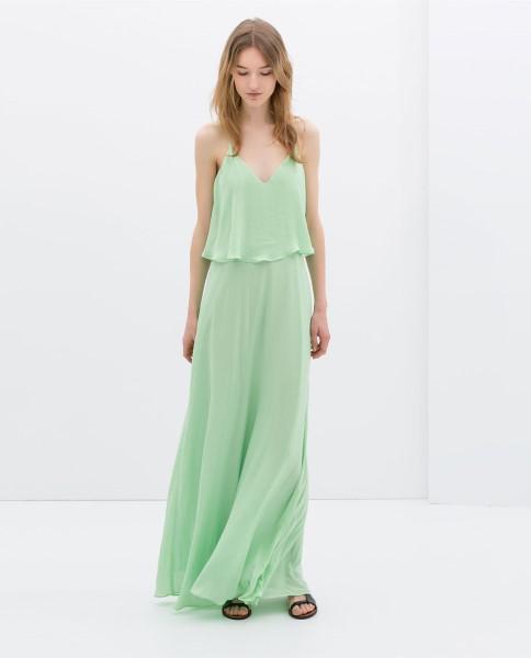 65e132658ed6 Βραδινά φορέματα Zara Άνοιξη 2014