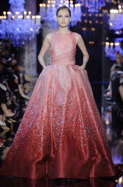 elie saab 2014 fall haute couture show17 634x960 - Βραδινά φορέματα υψηλής ραπτικής Elie Saab Φθινόπωρο 2014