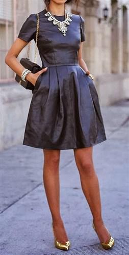 dermatino forema 4 - Μάθε ποια είναι τα πιο stylish δερμάτινα φορέματα
