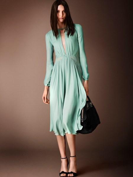 forema Burberry Pre Fall 2014 - Τα φορέματα που αγαπήσαμε για το φθινόπωρο 2014