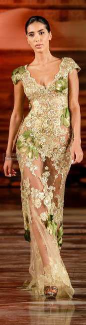 Wear lace dresses in winter (4)