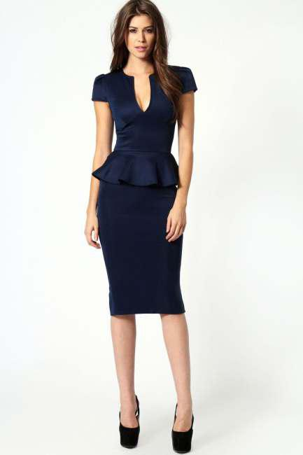 Τα πιο chic φορέματα είναι τα midi 71b5ca495ed