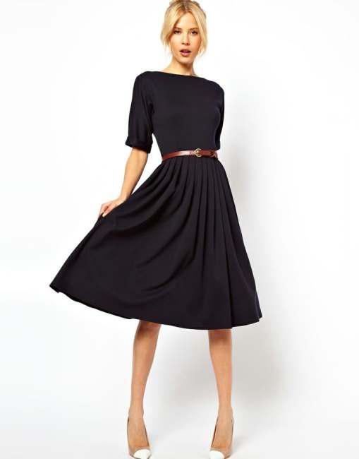 Τα πιο chic φορέματα είναι τα midi 6ba519e3cdd