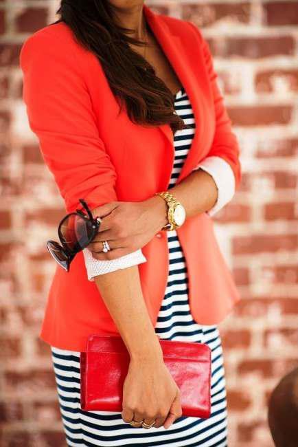 combine your dresses with jacket 1 - Πώς θα συνδυάσεις τα φορέματά σου με σακάκι