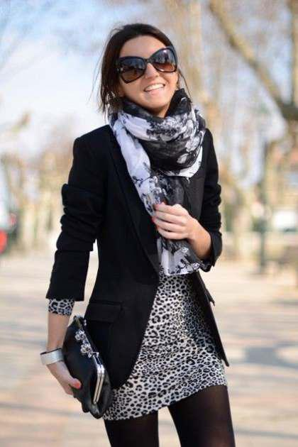 combine your dresses with jacket (2)