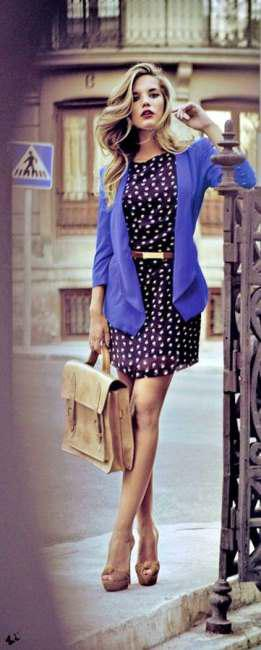 combine your dresses with jacket (4)