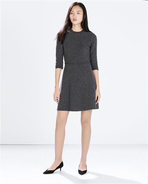 foremata Zara ftinoporo 2014 2 - Zara καθημερινά φορέματα Φθινόπωρο Χειμώνας 2014 2015