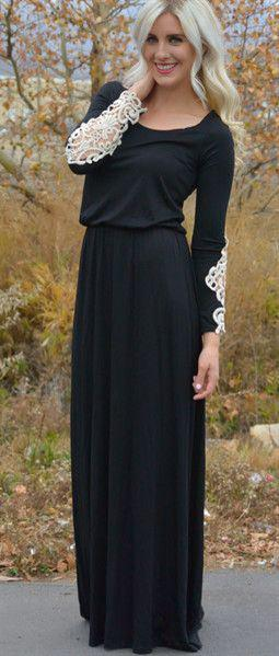 maxi foremata xeimona 4 - Φορέστε maxi φορέματα τον χειμώνα